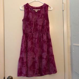 Merona Magenta Floral Dress
